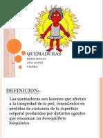 Clase QuemadurasmPediatria II UNAH