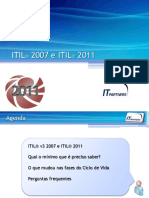 Itil 2007 e Itil 2011