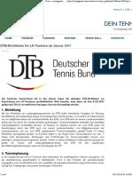 DTB-Richtlinien Für LK-Turniere Ab Januar 2017 - News - Mybigpoint.tennis