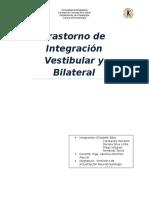Integracion sensorial vestibilar bilateral