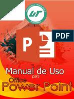 Manual PowerPoint UTAltamira 1-F Mecatrónica