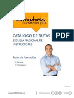Catalogo Rutas de Formacion Escuela Naciona de Instructores 2