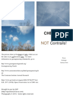Chemtrails Are Not Contrails