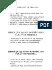Libros y material 5º de Primaria