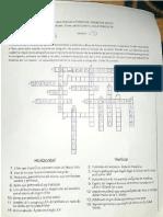 Crucigrama Historia