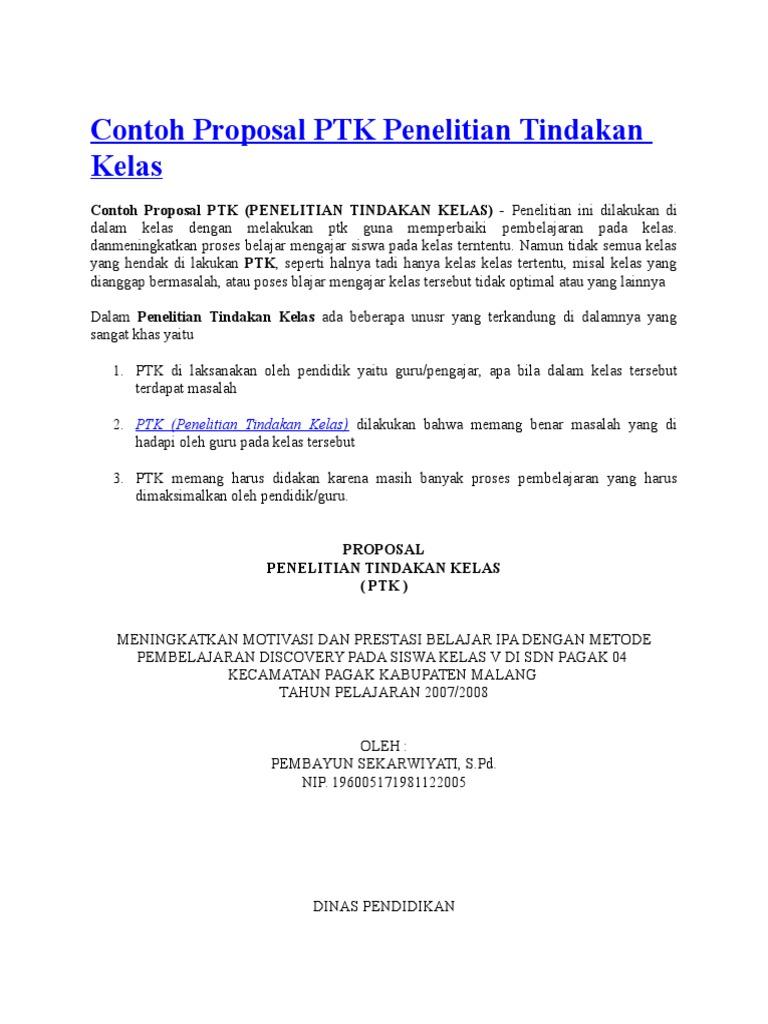 76937980 Contoh Proposal Ptk Docx