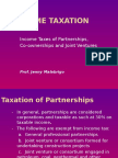 Income Taxation - Part 3 Partnership