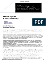 Arnold Toynbee _ a Study of History