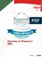 Accuracy vs Fluency in TEFL
