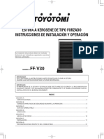 Toyotomi FF V30T