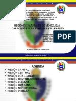 Exposicion Regiones Administrativas y Naturales Caracteristicas Ventajas