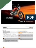 Corven Manual de Usuario Hunter150