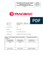 Sgc-pet-001 Montaje de Cobertura Panel Termo Aislante Tat 1060