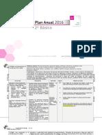 Planificacion Anual Artes Visulaes 2basico 2016