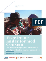 FAO Free Prior and Informed Consent