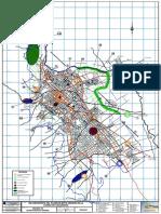 Esquema de Estructuración Urbana - Cajamarca