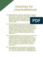 The Essentials for Attaining Buddhahood