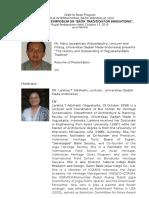 CV and Presentation