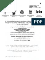 IV Congreso Iberoamericano Sobre Ddaa
