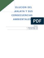 Evolucion Del Himalaya y Sus Consecuencias Ambientales