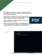 Coding Guide