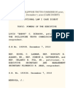 Biraogo v. Philippine Truth Commission