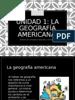1. La Geografia Americana 2016-2017