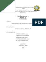Info de Indice de Refraccion
