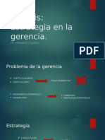 Análisis_ La Estrategia en La Gerencia