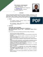 Curriculum Vitae - Jose Taype Riquelme