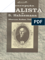 Concepção Vitalista de Samuel Hahnemann - Dr. Marcus Zulian Teixeira