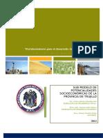 Sub Modelo Potencial Socioeconomico - Para Complementar Cap IV