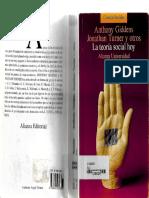 Giddens, AnthonyLa teoría social hoy