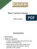 Basic Cyclone design