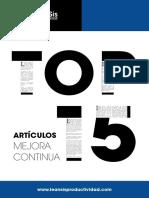 Leansis_TOP15_Artículos