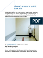 The drug industry's answer to opioid addiction  More pills.docx