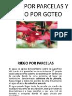 RIEGO POR PARCELAS Y RIEGO POR GOTEO.pdf