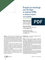 Propuesta de LSS en Pymes