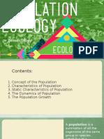 Population Ecology, Demecology