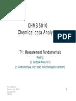 T1. Measurement Fundamentals