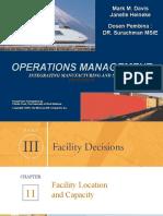 11 Facility Location and Capacity PART III p 372-p405