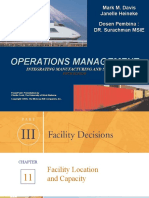 11 Facility Location and Capacity PART III p 372-p405