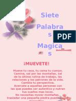 7 Palabras Magicas