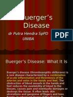 Buergers Disease 26-6-14