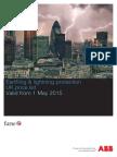 Earthing & Lightning Protection UK Price List 2015