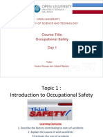 Intro Occupational Safety