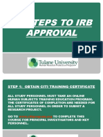 10 Steps to IRB Approval 2
