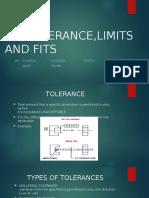 Presentation (Tolerance Limit and Fits)