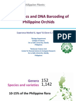 Systematics and DNA Barcoding of Orchids by Esperanza Agoo