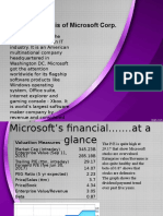 Financial Analysis of Microsoft
